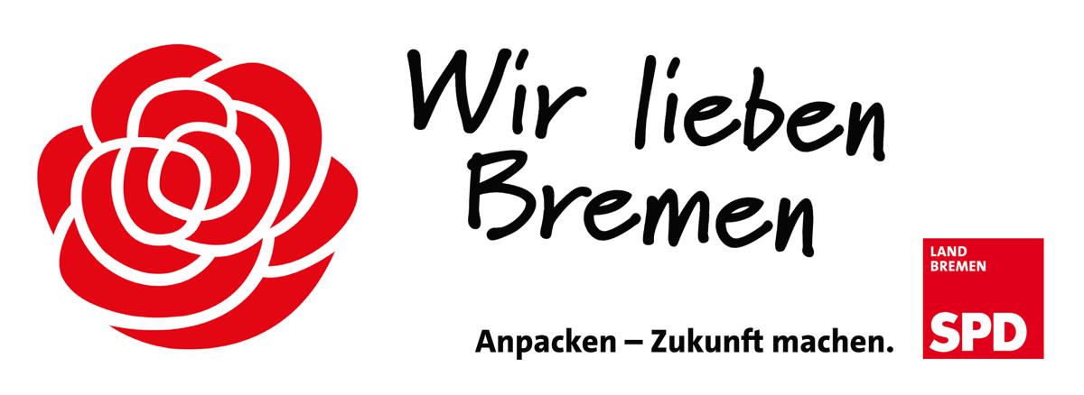 Wir lieben Bremen. Anpacken - Zukunft machen. SPD Land Bremen